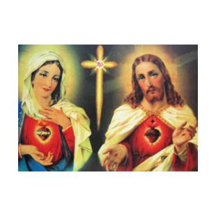 Die vereinten Herzen Jesu und Maria