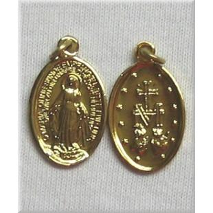 Wundertätige Medaille Alu eloxiert (20 mm)