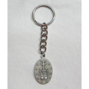 Schlüsselanhänger mit wundertätiger Medaille