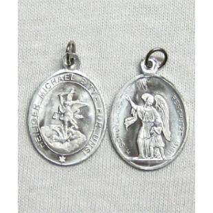 St. Michael Medaille Alu