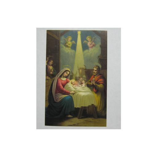 heiligenbild geheimnis von weihnachten 0 19 eur. Black Bedroom Furniture Sets. Home Design Ideas