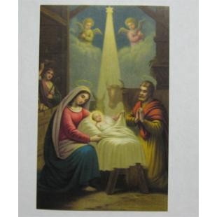 Heiligenbild Geheimnis von Weihnachten