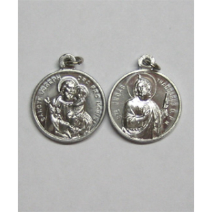 St. Thaddäus/Hl. Josef Medaille Alu