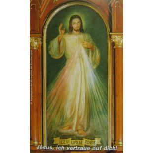 """Gebetsbild """"Jesus ich vertraue auf dich"""""""