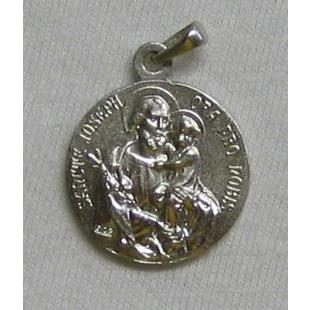 St. Judas-Thaddäus-/Hl. Josef-Medaille, Silber 925