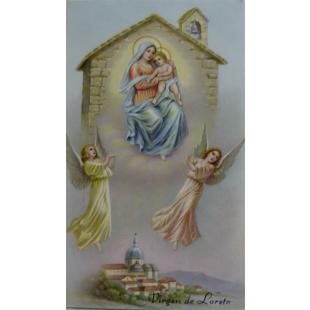Heiligenbild Jungfrau von Loreto