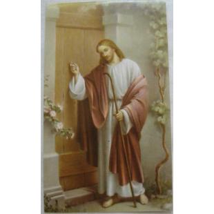 Heiligenbild Jesus, anklopfend