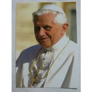 Postkarte Papst Benedikt XVI.