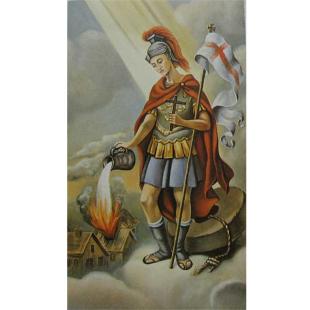 Heiligenbild Hl. Florian
