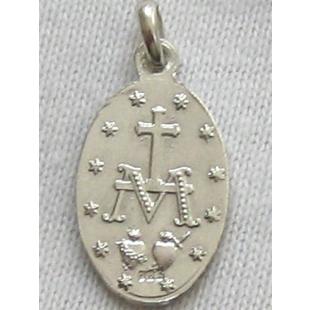 Wundertätige Medaille, Silber 925, 13 mm