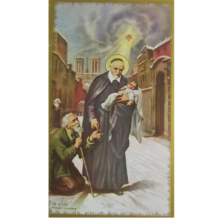 Heiligenbild Vinzenz von Paul