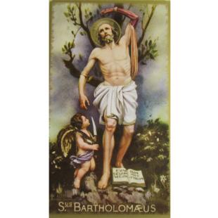 Heiligenbild Hl. Bartholomäus