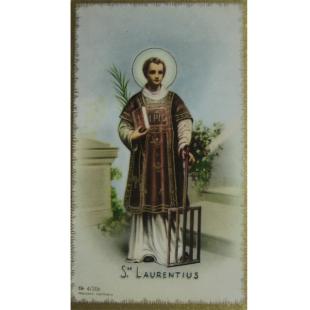 Heiligenbild Hl. Laurentius