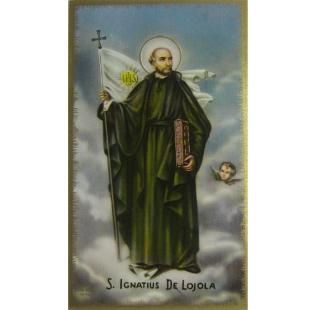 Heiligenbild Ignatius von Lojola