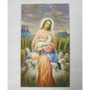 Heiligenbild Der gute Hirt