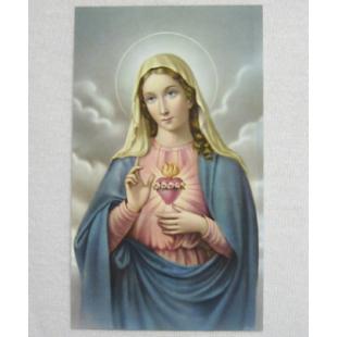 Heiligenbild Herz Maria