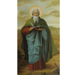 Heiligenbild Apostel Matthäus