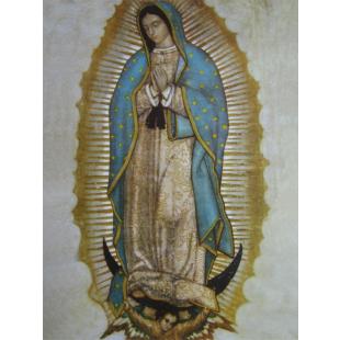 Rahmenbild Jungfrau Maria von Guadalupe, U.L.F.