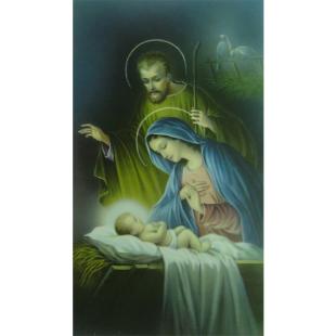 Heiligenbild Heilige Familie
