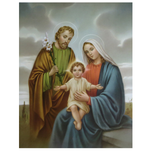 Rahmenbild Motiv Heilige Familie