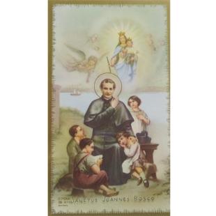 Heiligenbild Johannes Bosco