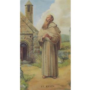 Heiligenbild St. Kevin