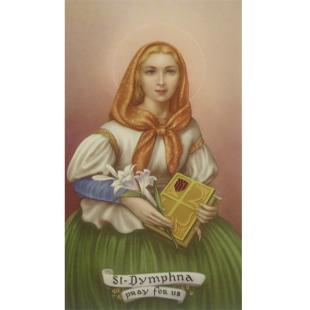 Heiligenbild Dymphna