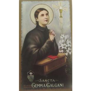 Heiligenbild Gemma Galgani