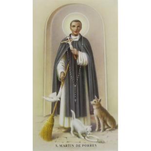 Heiligenbild Martin de Porres