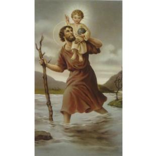 Heiligenbild Christophorus