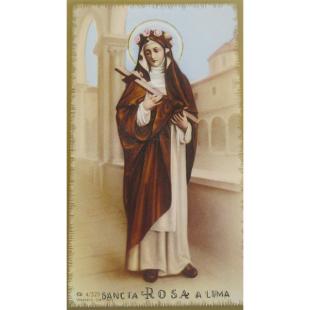 Heiligenbild Rosa von Lima