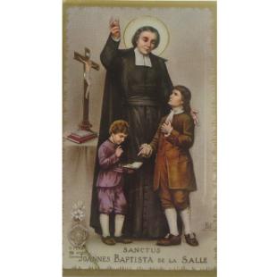 Heiligenbild Johannes Baptist de la Salle