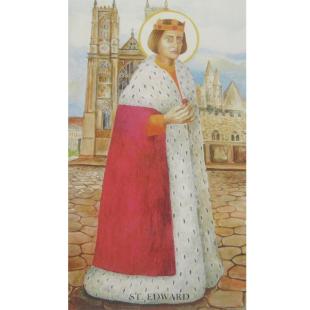 Heiligenbild St. Edward