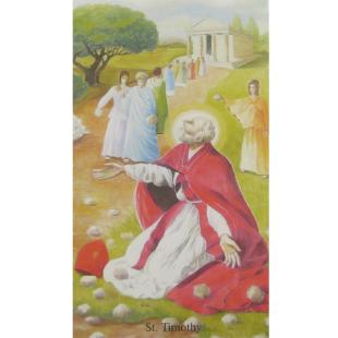 Heiligenbild Timothy