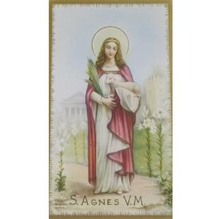 Heiligenbild Agnes