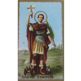 Heiligenbild Expeditus