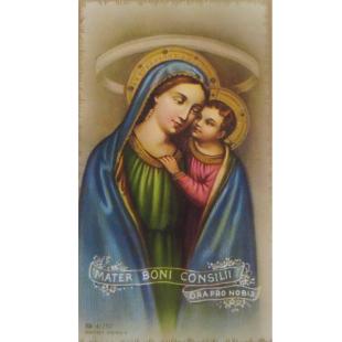 Heiligenbild Mutter vom Guten Rat