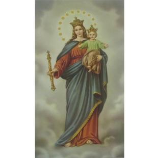 Heiligenbild Maria Auxiliadora (Hilfreiche)