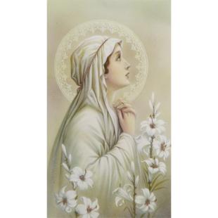 Heiligenbild Jungfrau Maria