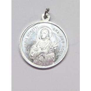 Medaille Maria Goretti Alu 22 mm