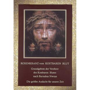 """Heft """"Rosenkranz vom Kostbaren Blut"""""""
