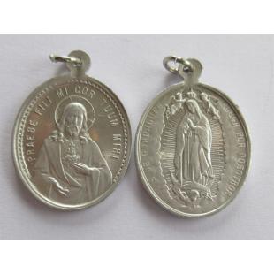 Medaille Maria von Guadalupe Alu 25 mm